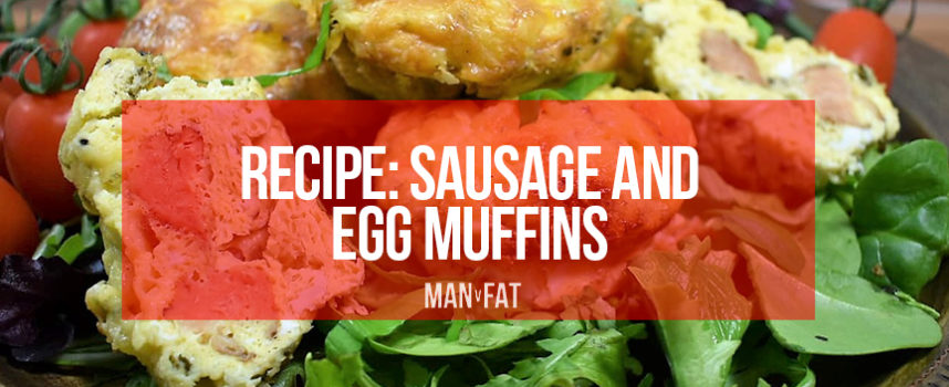 Recipe: Sausage and egg muffins