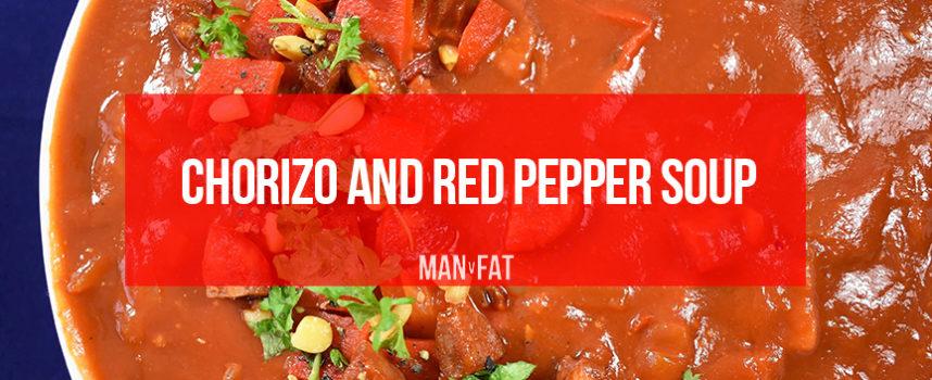 Recipe: Chorizo and red pepper soup