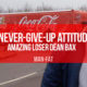 A never-give-up attitude: Amazing Loser Dean Bax