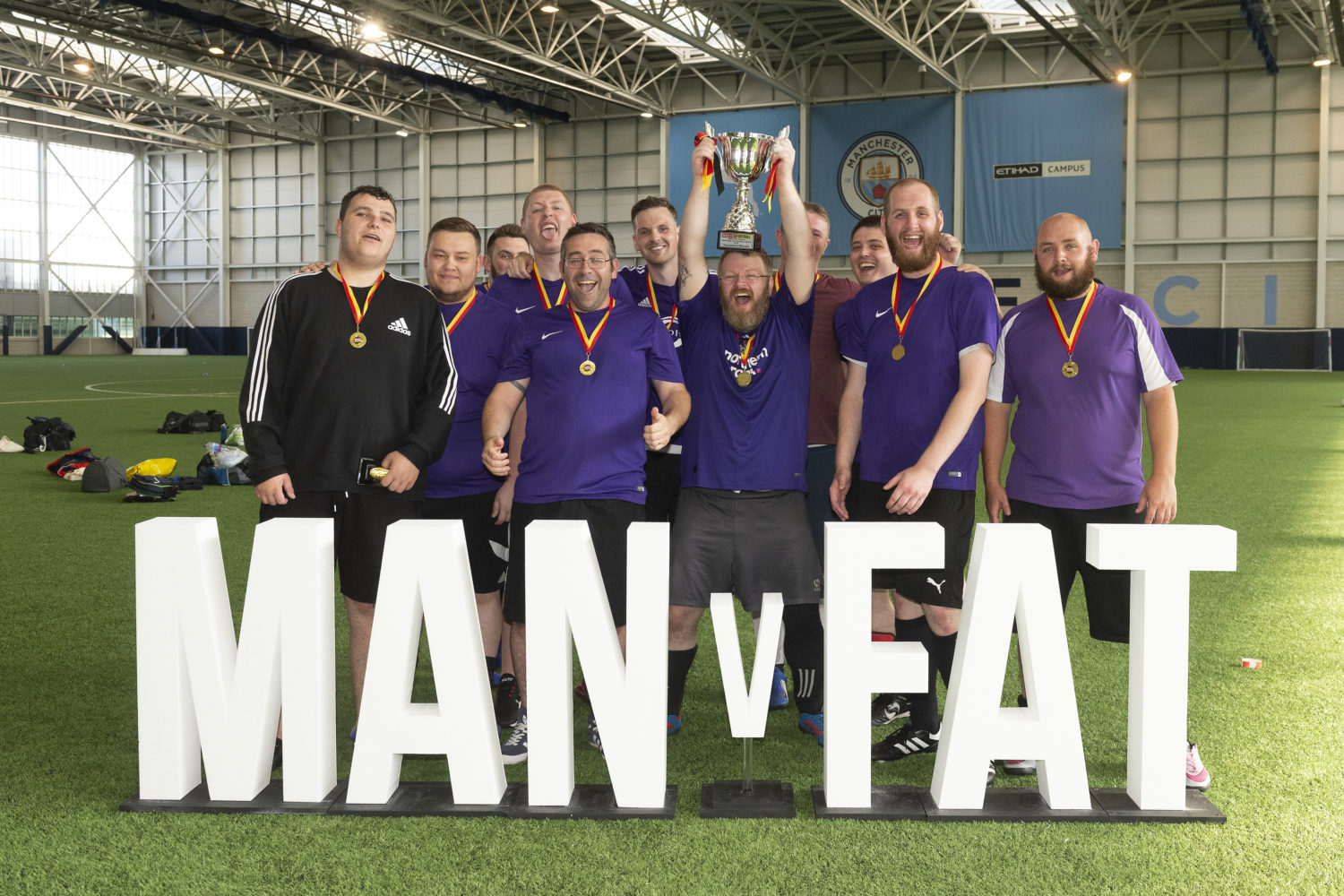 What is MAN v FAT CHALLENGE?
