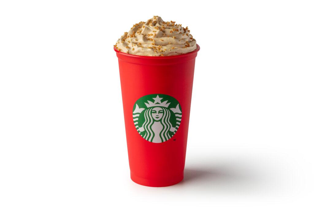 Gingerbread Latte Starbucks Christmas Calories 2019