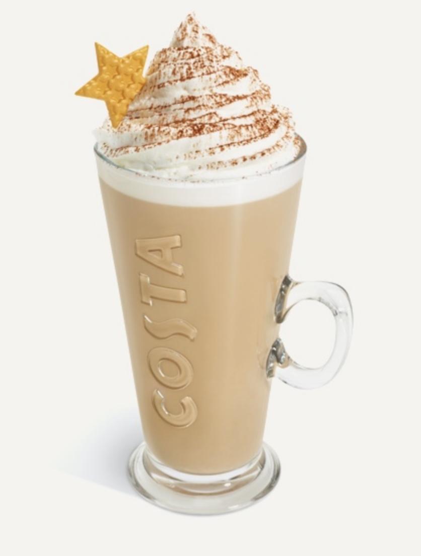 Costa Irish cream latte