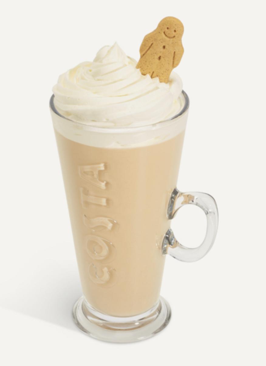 Costa Gingerbread Latte