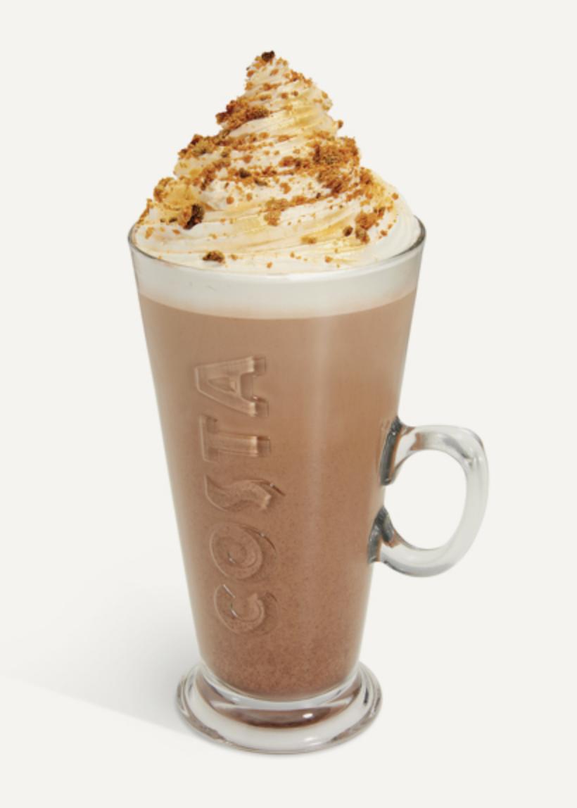 Hazelnut Praline & Cream Latte