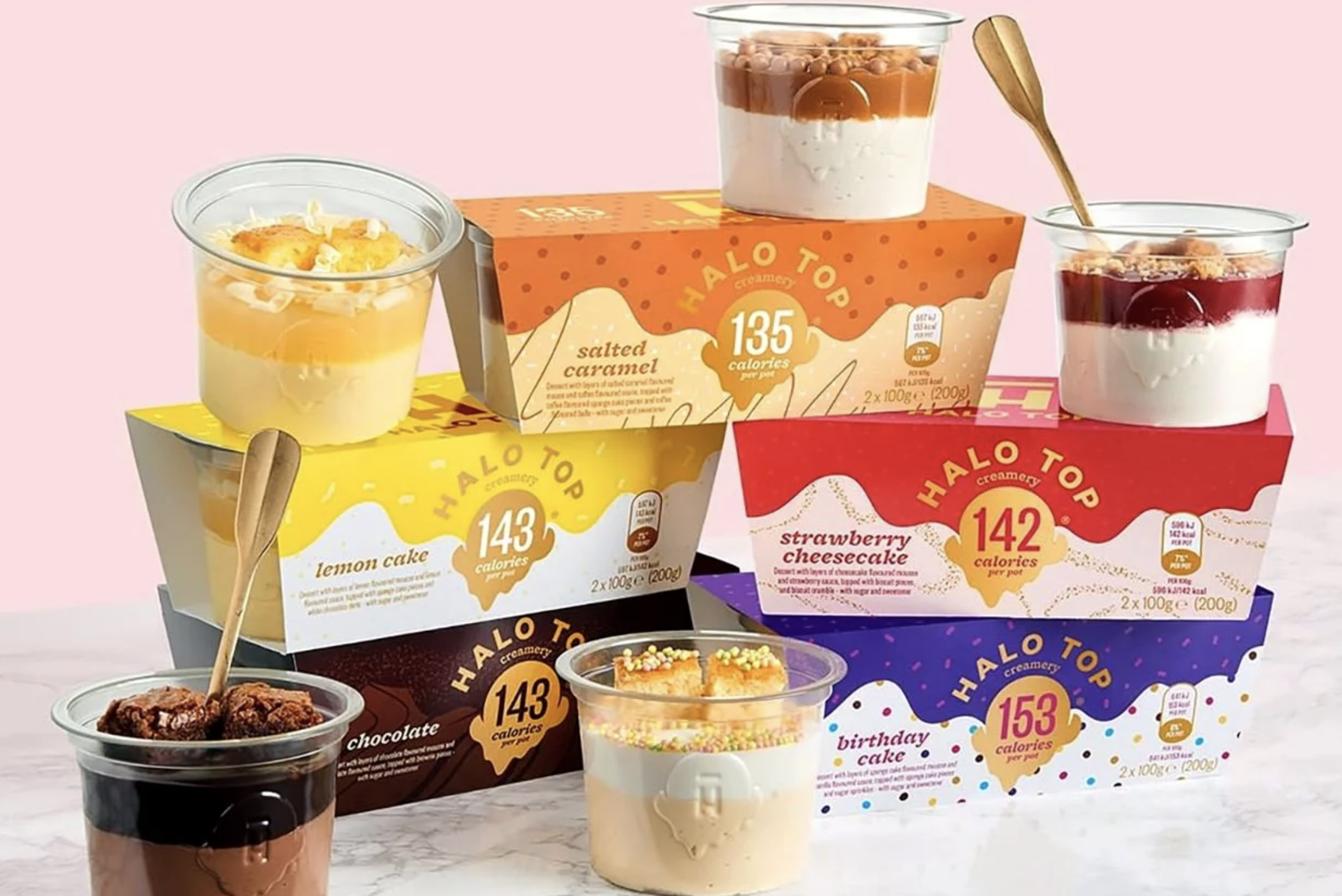 Halo Top chilled pots