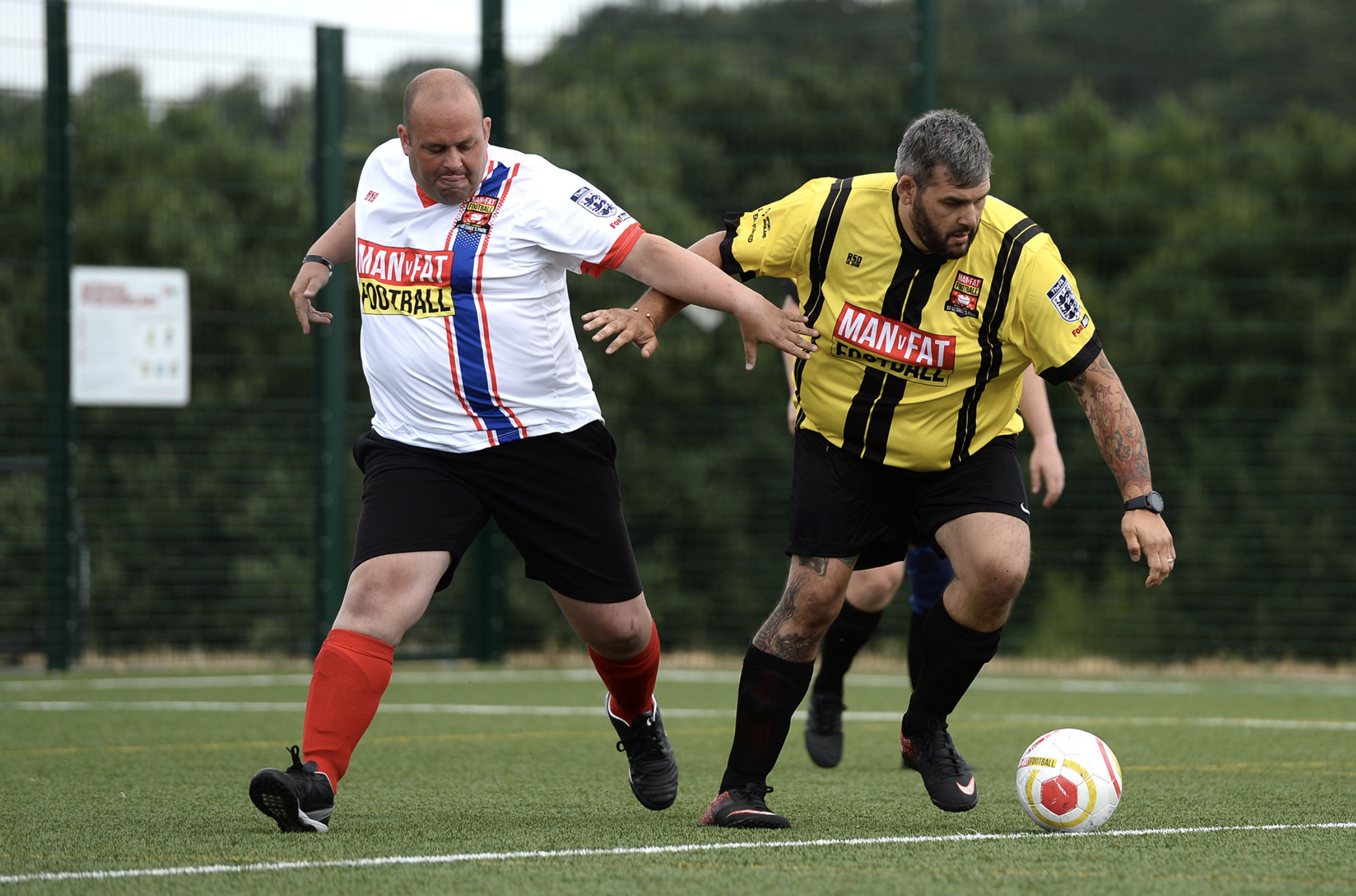 Sign up for MAN v FAT Football for £1 in January!