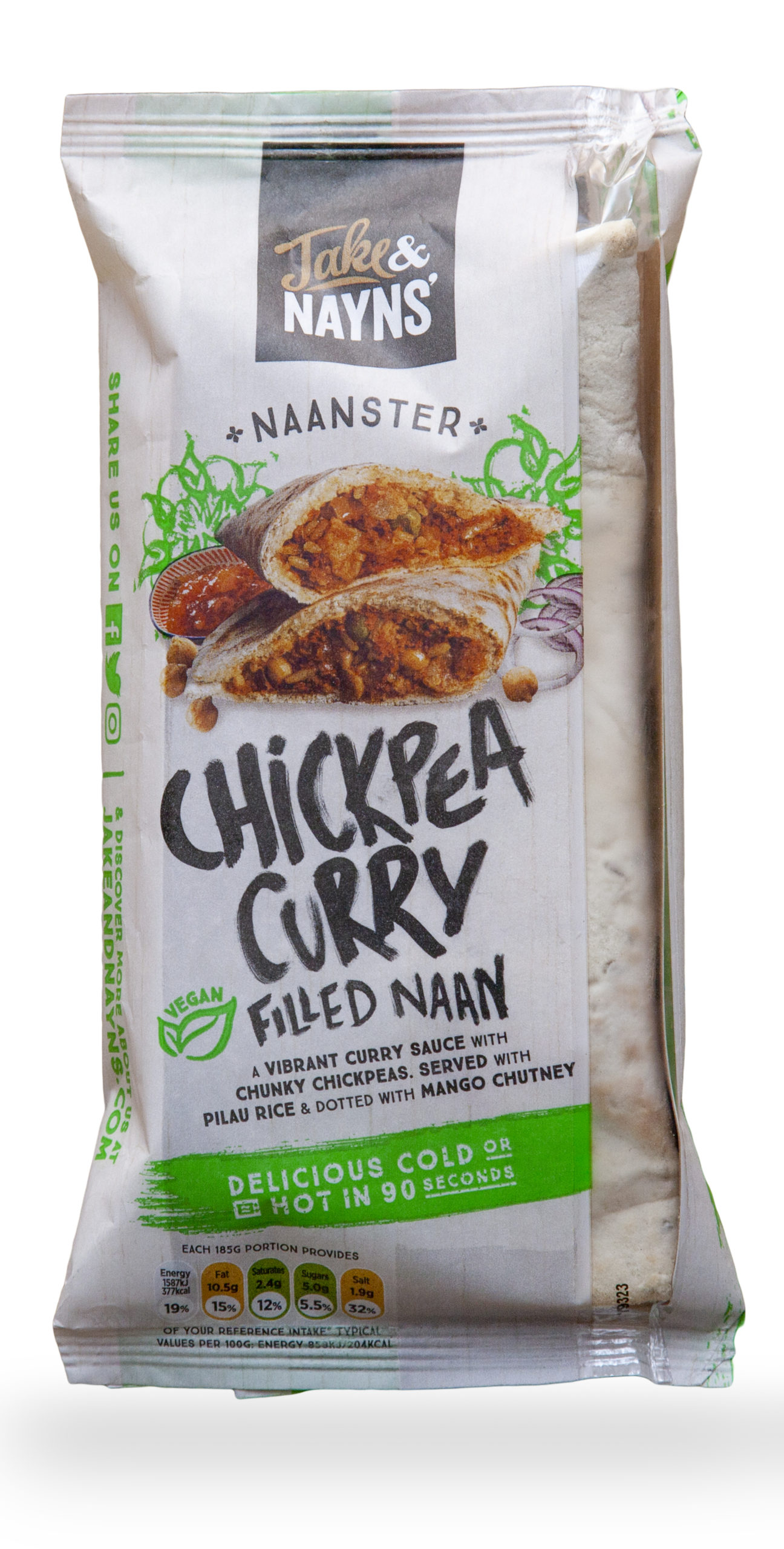 Naanster chickpea curry