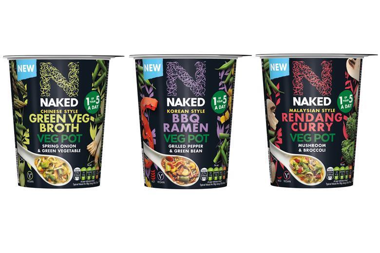 Naked veg pots