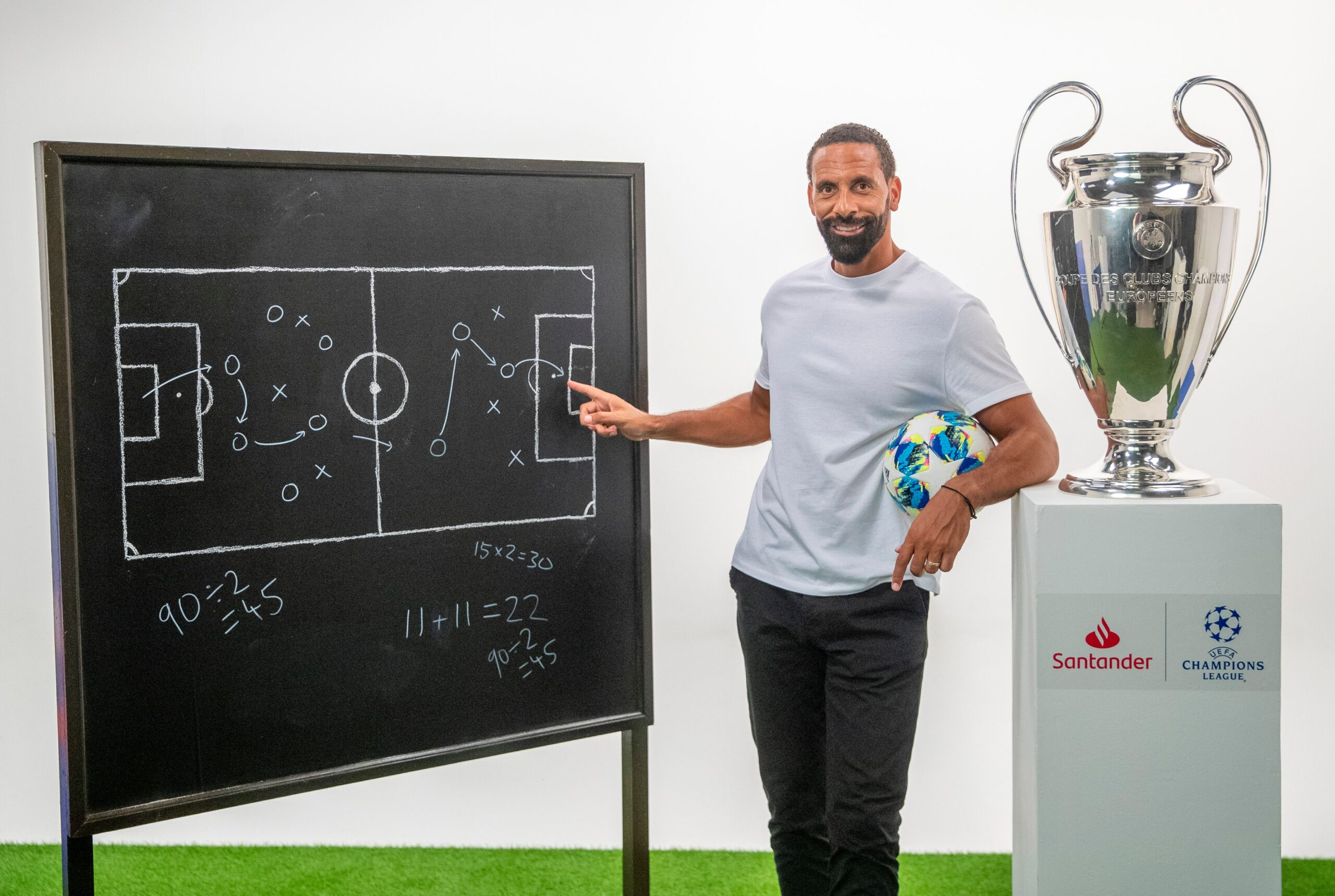 Rio Ferdinand launches football resources with Twinkl