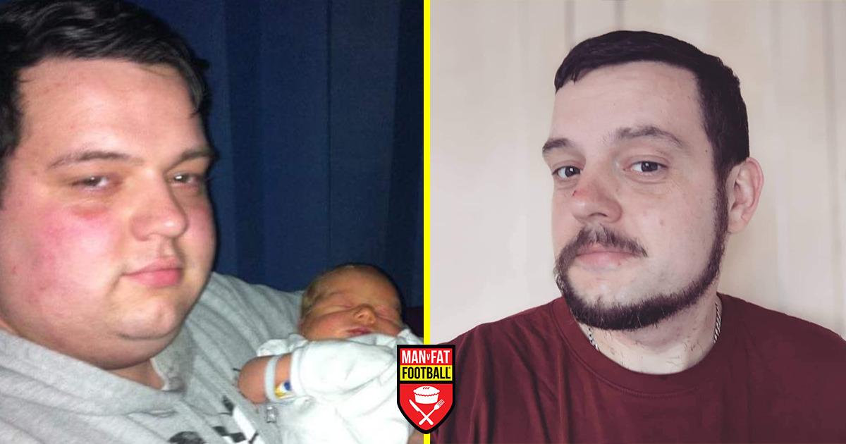 MAN v FAT Football weight loss story