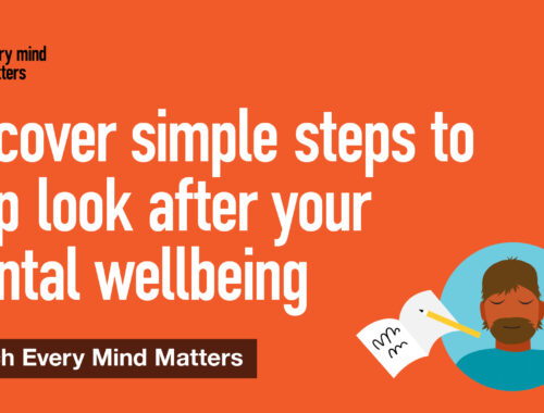 Simple steps to look after your mental wellbeing