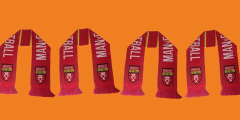 win a man v fat football scarf