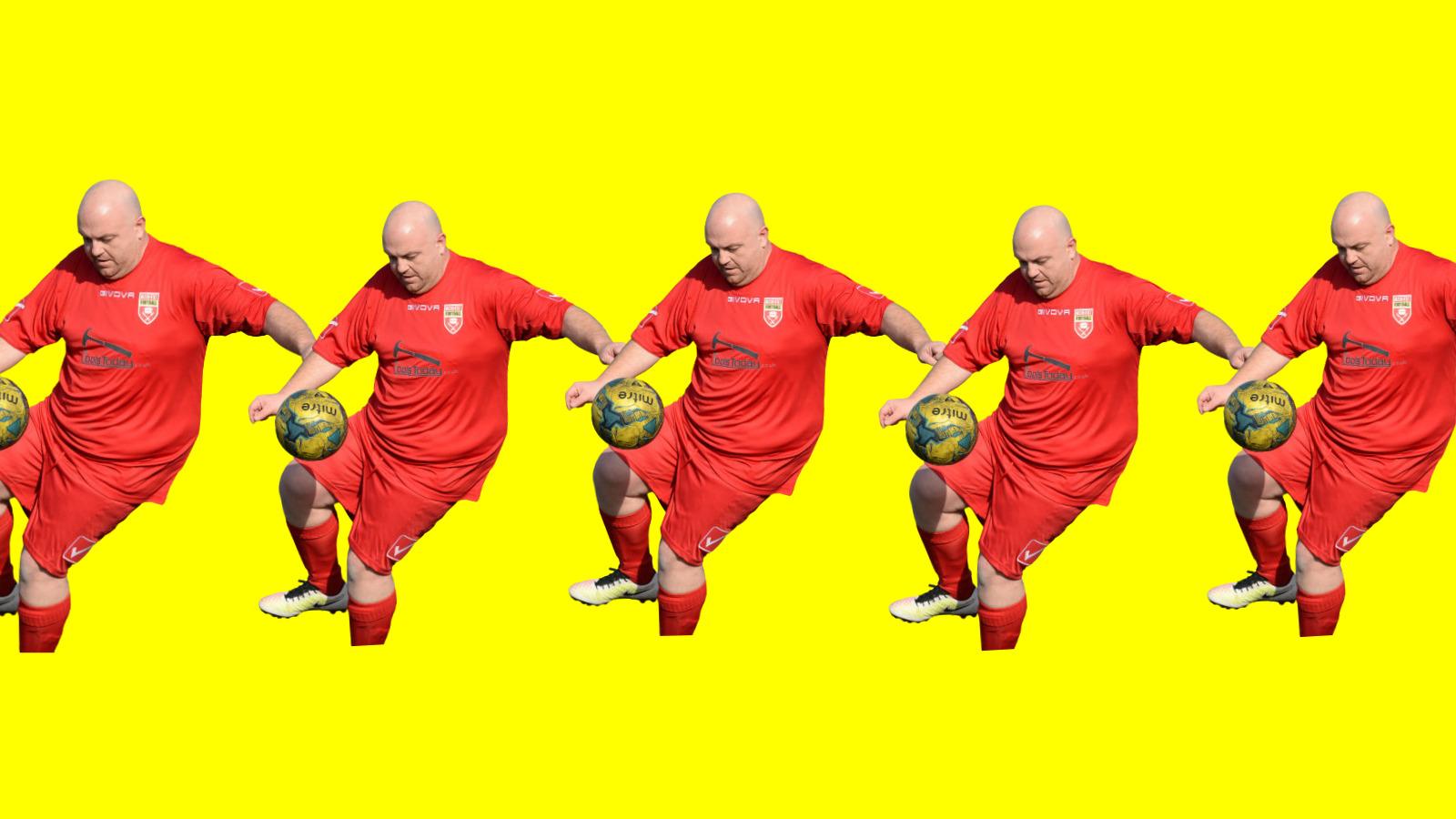 win a season of MAN v FAT Football