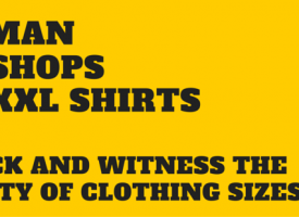 We Sent One Man Into Five Shops To Try Five XXL T-Shirts – Here's What Happened