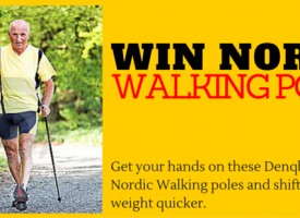 Win Nordic Walking Poles