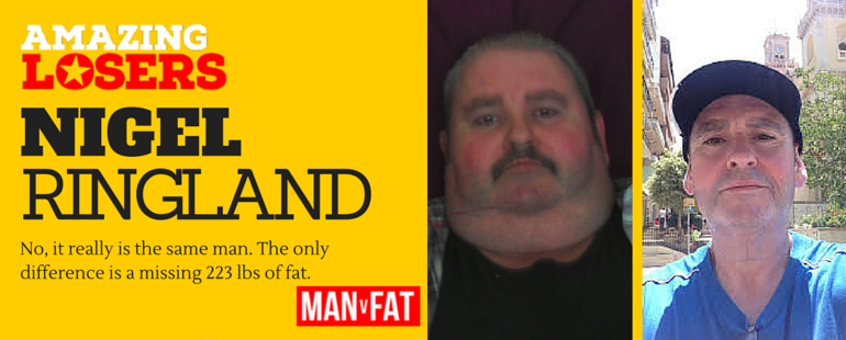 Weight Loss Transformation - Nigel Ringland - Amazing Loser