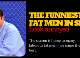 The Funniest Fat Guys From Sitcoms