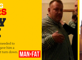 Massive Weight Loss Story – Tony Edge #AmazingLoser