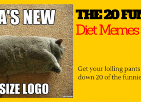 The 20 Funniest Diet Memes…Plus Cats!