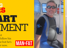 Cancer Weight Loss Story – Stuart Wayment #AmazingLoser