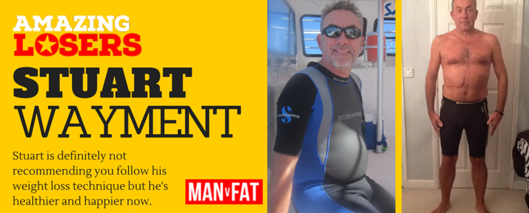 Cancer Weight Loss Story - Stuart Wayment #AmazingLoser