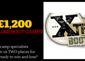 Win A Weight Loss Boot Camp For Two With Xtreme Worth Over £1,200