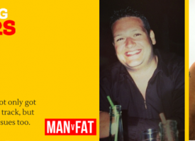 Weight Loss Transformations – Dan Fish #AmazingLoser