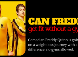 Freddy Quinne's No Gym Weight Loss Challenge