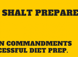 The Ten Commandments Of Dieting Preparation
