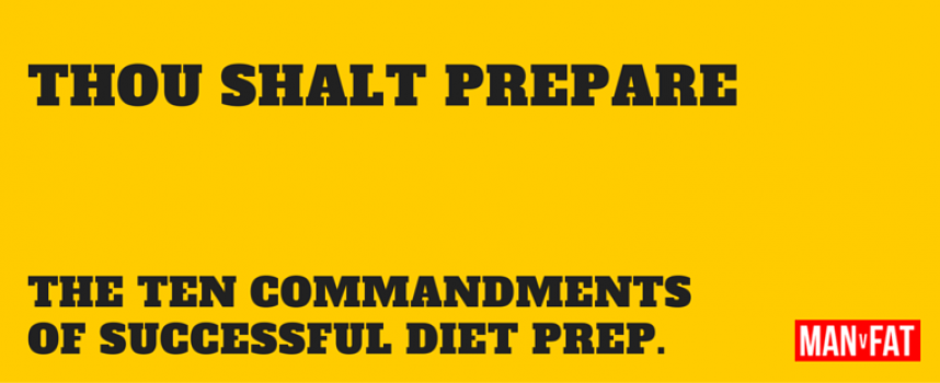 The Ten Commandments Of Dieting Preparation