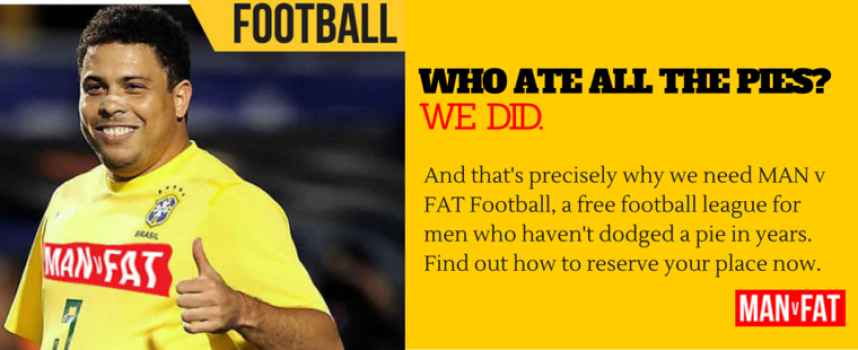 MAN v FAT Football Launches in January – Join Us!