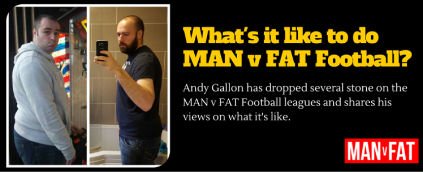 What's It Like To Be Part Of A MAN v FAT Football League?