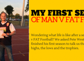 My First MAN v FAT Football Season