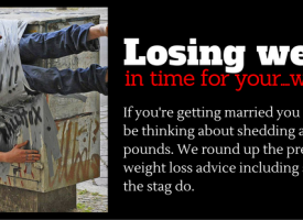 Losing Weight In Time For…Your Wedding
