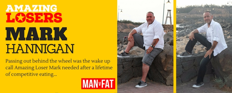 From Passing Out Fat To Toned and Slim - Amazing Loser Mark Hannigan