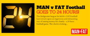 Photo: 24 Hours Of MAN v FAT Football