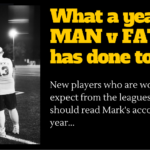 Photo: How A Year of MAN v FAT Football Has Changed My Life