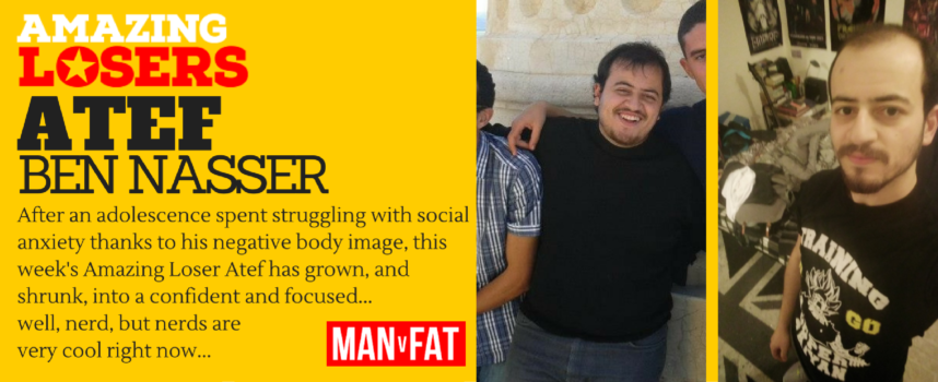 Nerd Do Well: Amazing Loser Atef Ben Nasser