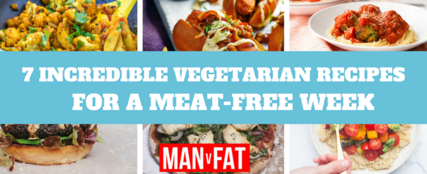 7 Incredible Vegetarian Recipes For A Meat-Free Week