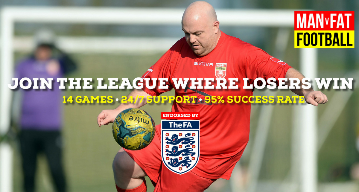 MAN v FAT Football: The league where losers win