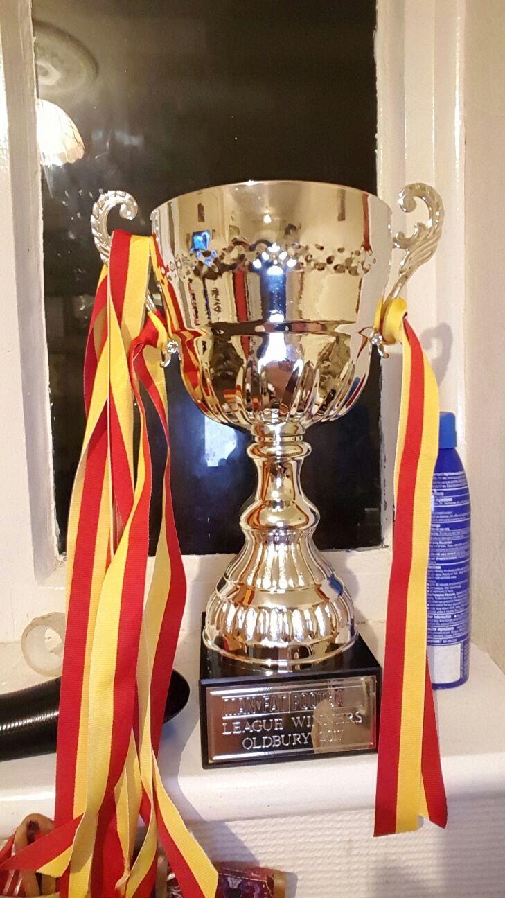 The MAN v FAT trophy