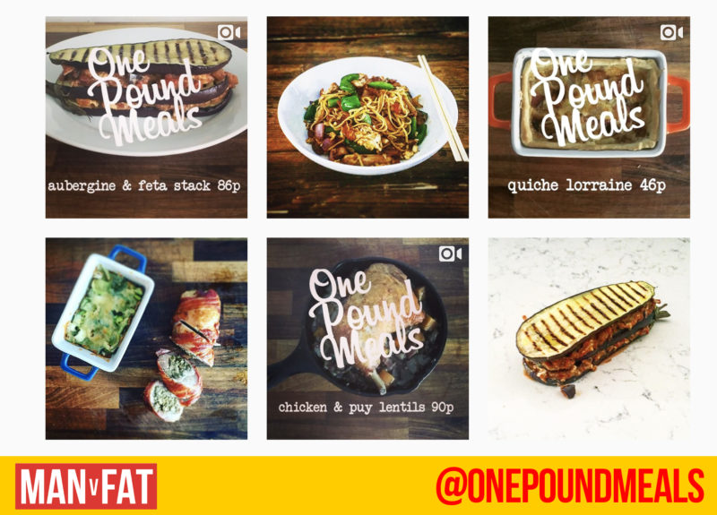 onepoundmeals - weight loss Instagram
