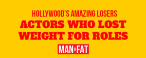 Photo: He ate what?! Actors who lost weight for film roles