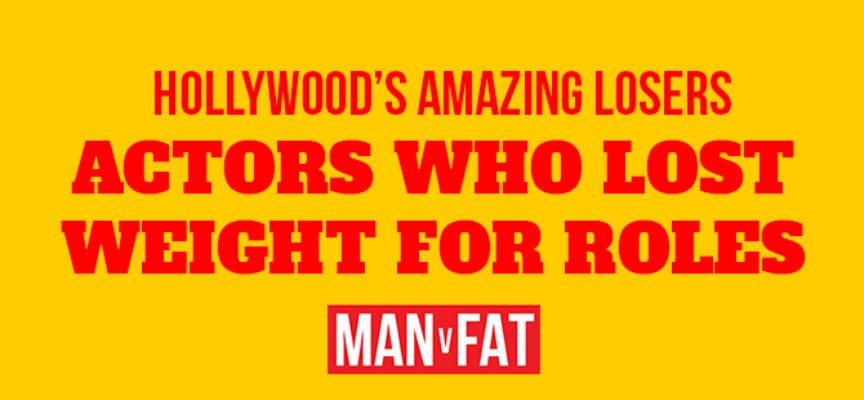 He ate what?! Actors who lost weight for film roles