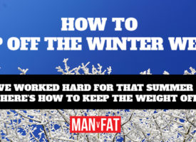 How to keep off the winter weight