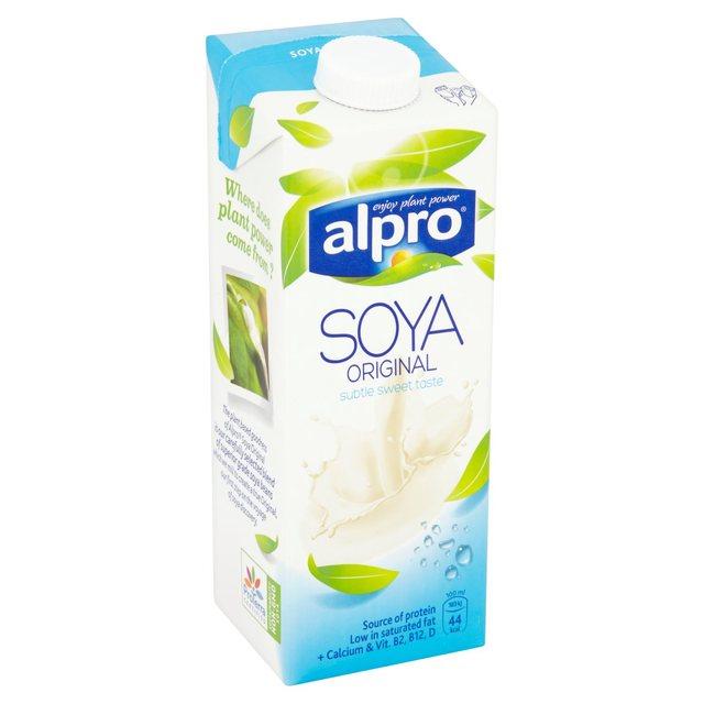 Alpro Soya - guide to milk alternatives