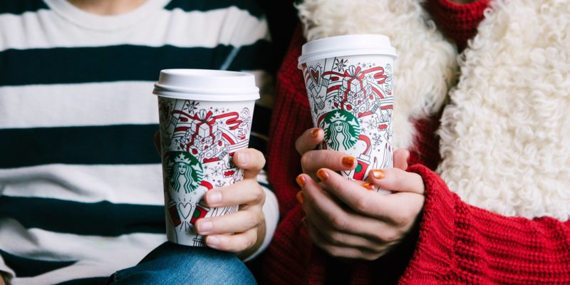 Festive drinks 2017 - Starbucks