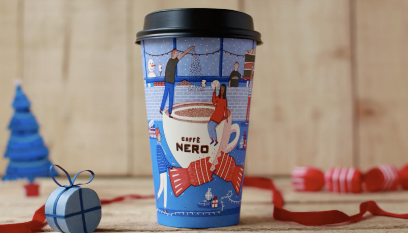 Festive drinks 2017 - Caffe Nero