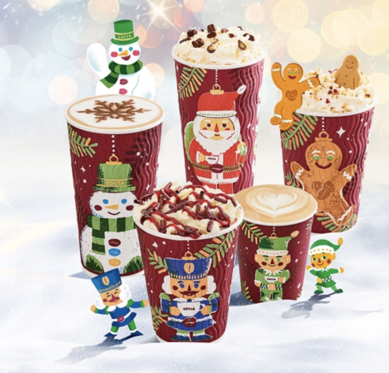 Festive drinks 2017 - Costa