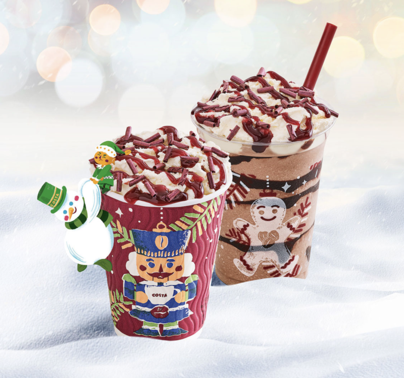 Festive drinks 2017 - Costa Black Forest Hot Chocolate